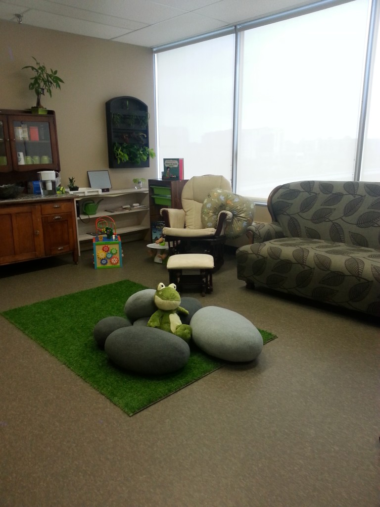 Reception and Childminding Area